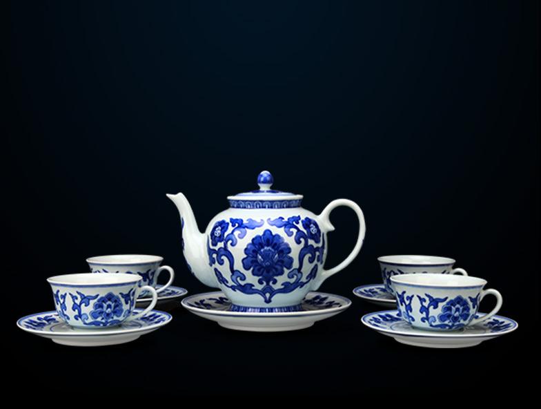 10头茶具(4人用)